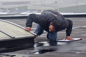 Service en onderhoud van dakbedekking